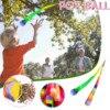 Nastro da lancio a mano arcobaleno palla sacchetti di sabbia sacchetto di fagioli bambini giochi all'aperto giocattoli per bambini ragazzi ragazze 5 6 7 8 9 anni Jeux Enfant