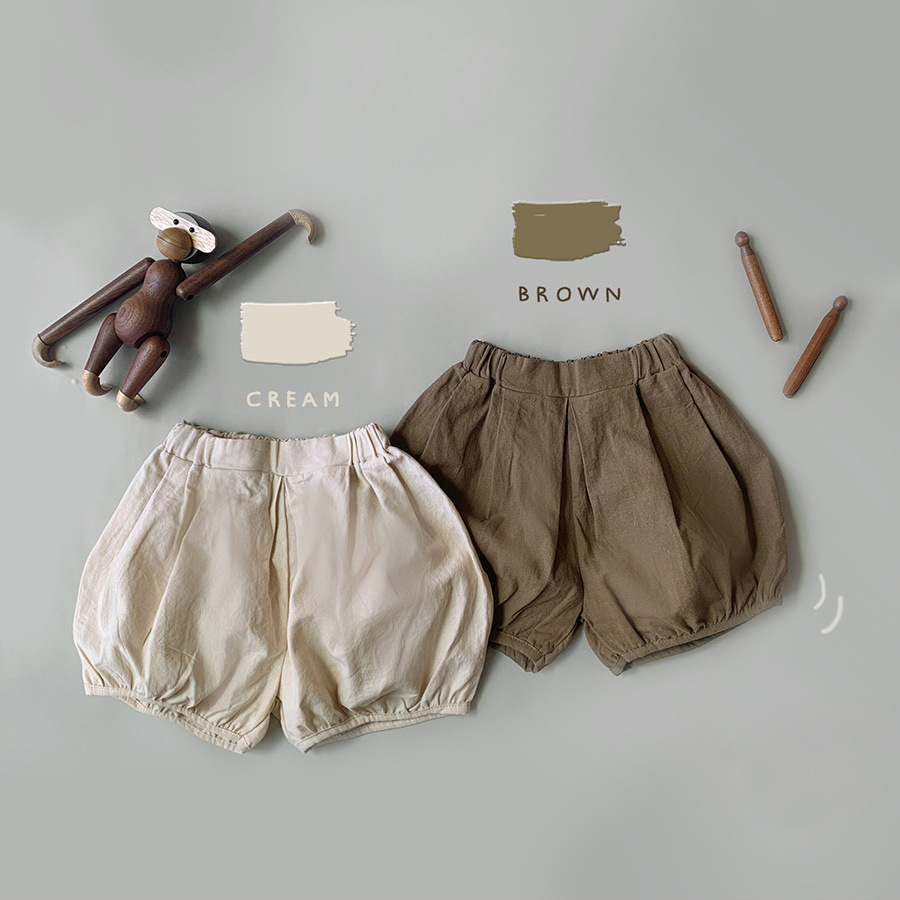 2021 Summer New Toddler Baby Girl Cotton And Linen Fashion Casual Children's Shorts Pant Kid Boy Loose Soft Bloomers