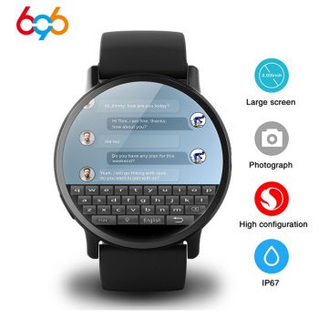 DM19 Smart Watch Men 4G Andriod 7.1 8.0MP Camera MTK6739 Quad Core 16GB Rom Fitness Tracker IP67 Waterproof Wifi GPS Smartwatch 1