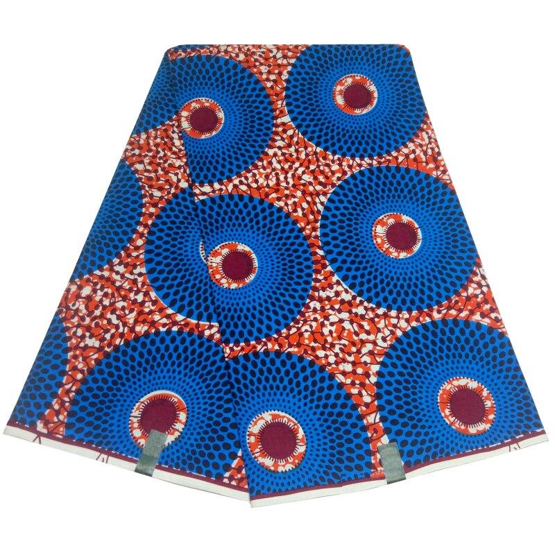 Ankara Fabric Wholesale African Wax Fabric 100% Cotton 2019 African Print Fabric Pure Bridal Wedding Dresses African Wax Fabric