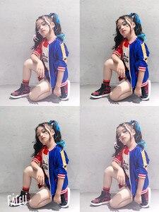 Image 4 - Disfraz de Harley Quinn para niñas y adultos, Cosplay de Navidad, chaqueta de JOKER para carnaval, 24 horas de envío
