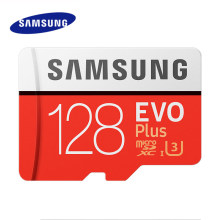 SAMSUNG Micro SD de 128GB de tarjeta de memoria de 64GB y 256GB EVO Plus de Class10 TF tarjeta C10 tarjeta SD 100 MB/S MicroSD UHS-1 U3 cartao de memoria