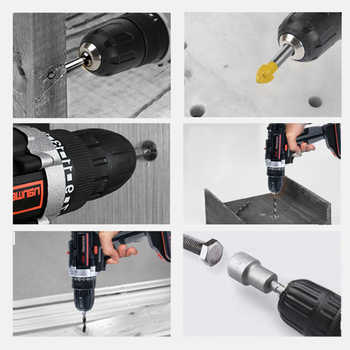 42VF 7500mAh Electric Screwdriver Cordless Drill 2-Speed Lithium-ion Battery Rechargeable Power Mini Cordless Electric Drills