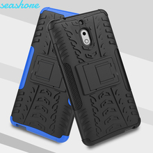 Case For Nokia 2.1 Cover Silicone Soft TPU + PC Heavy Duty Armor TA-1080 TA-1092 TA-1084 TA-1093 TA-1086