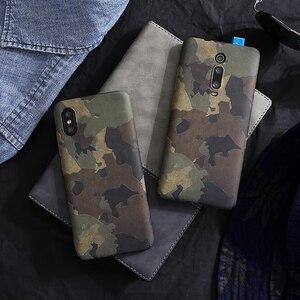 Image 1 - Retro camouflage Plastic hard shell case For xiaomi MI 9 MI9 SE, MI8 MIX3 MIX2S mi10pro K20 PRO 9T PRO