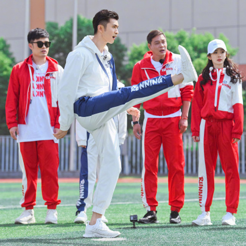 2019 New Style Soccer Uniform Sports Set Men And Women Spring And Autumn Hooded Mixed Colors Casual Sports Jogging Suits Two-Pie