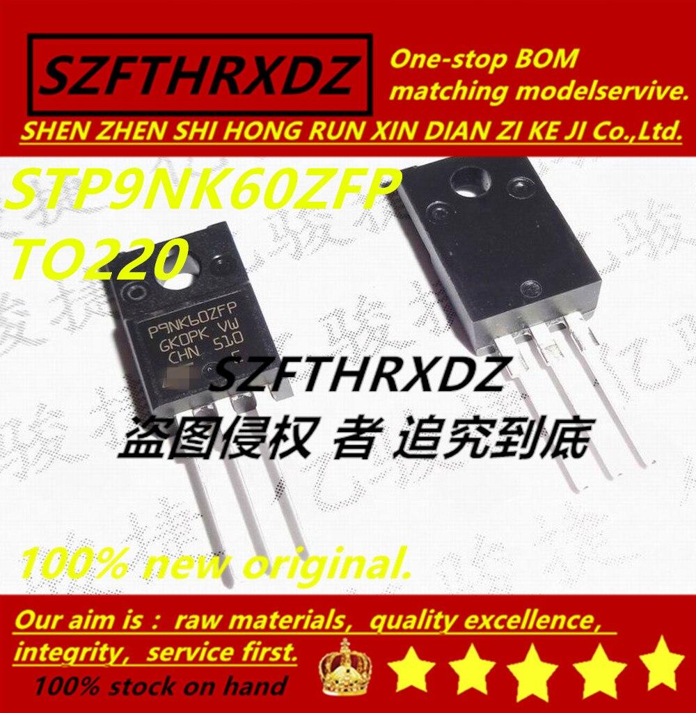 SZFTHRXDZ 100% Новый оригинал (10 шт 50 шт) STP9NK60ZFP P9NK60ZFP TO220|Индукторы|   | АлиЭкспресс