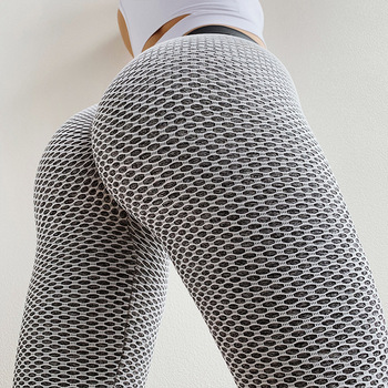 Women Seamless Fitness Leggings High Waist Butt Push Up Workout Pants Sexy Breathable High Elastic Female Gym Clothing Leggings 1