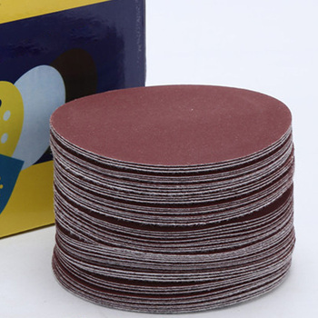 10pcs 4inch 100mm Wet Dry Sandpaper Sander Disc Sanding Pad 40 60 100 120 240 320 400 600 800 1000 1500 2000 Grit Polishing Pad image