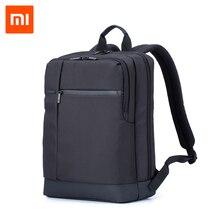 Xiaomi viagem de negócios mochila com 3 bolsos grandes compartimentos com zíper mochila poliéster 15.6 pollici borsa del computador
