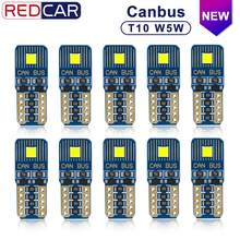 10 stücke Canbus Fehler Freies T10 Leb Birne W5W 164 198 Licht Auto Innen Dome Licht FLS35 Chips 6000K stamm Lampe Parkplatz Lights12V