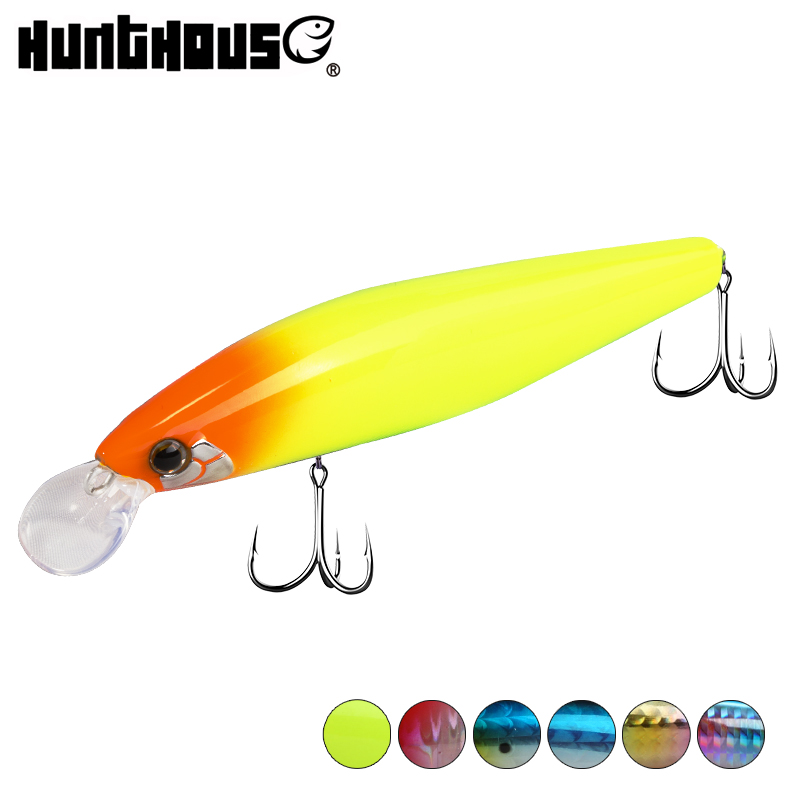 Hunthouse Minnow Fishing Lure Sinking 99mm 17g Sardines Tungsten Weight Slider Systemexclusive Silent Assassin Flashy Cand Lw418