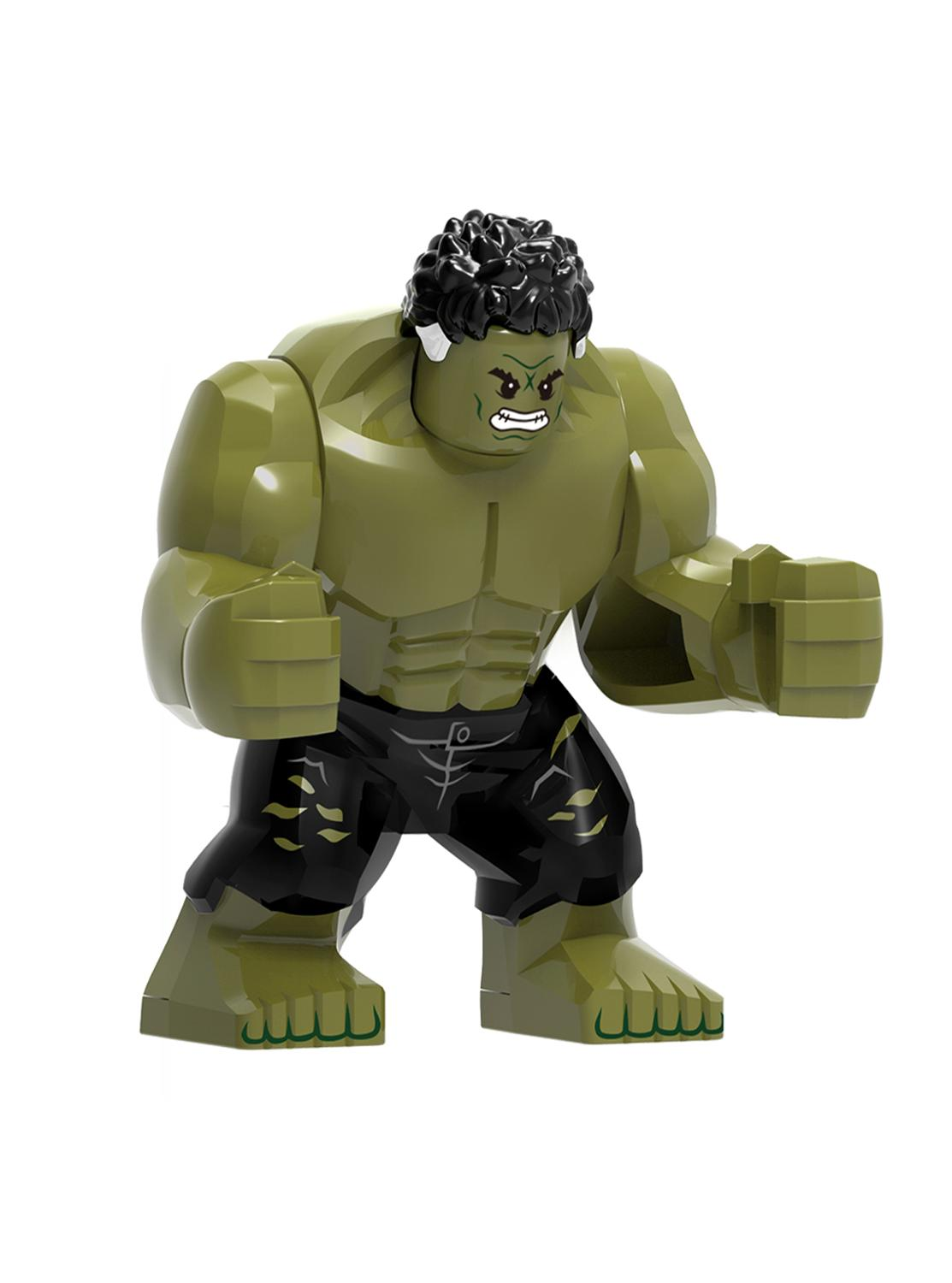 Image 4 - Big Size Hulk Marvel Avengers Endgame legoed Superheroes Hulkbuster Ironman Spiderman Thanos Building Blocks bricks Toy For Kids-in Blocks from Toys & Hobbies