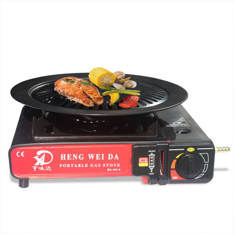 2.9kw Ultralight Butane Gas Stove Portable Camp Stove Hiking Camping Equipment Stove Camping Grills Outdoor Indoor Gas Stove