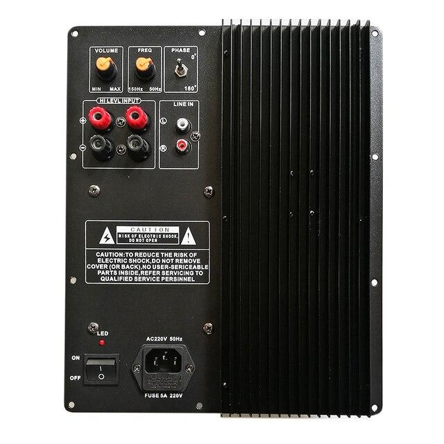 200W 250W סאב כוח מגבר לוח/גבוהה כוח מגבר/סאב טהור בס מגבר/אחד לוח קולנוע ביתי H093