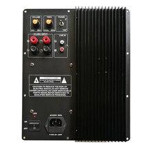 Placa amplificadora de potencia, Subwoofer de 200W y 250W, amplificador de alta potencia, amplificador de graves puros, tablero único para cine en casa H093
