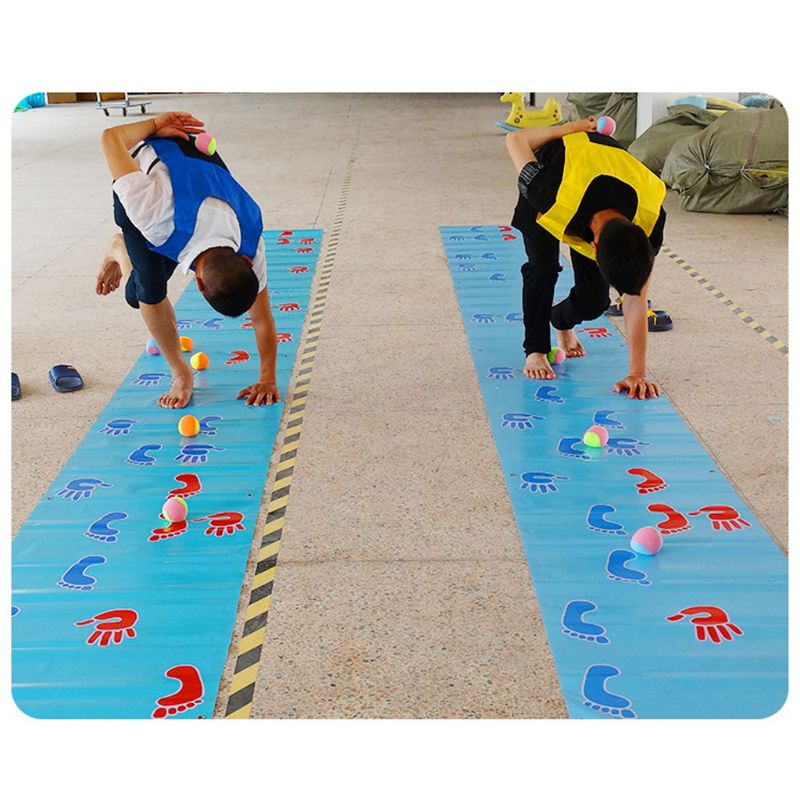 Hands And Feet Game Pad Team Expand Props Outdoor Training Group Building Fun Game Pads Children Kids Games Toy Mat R7RB