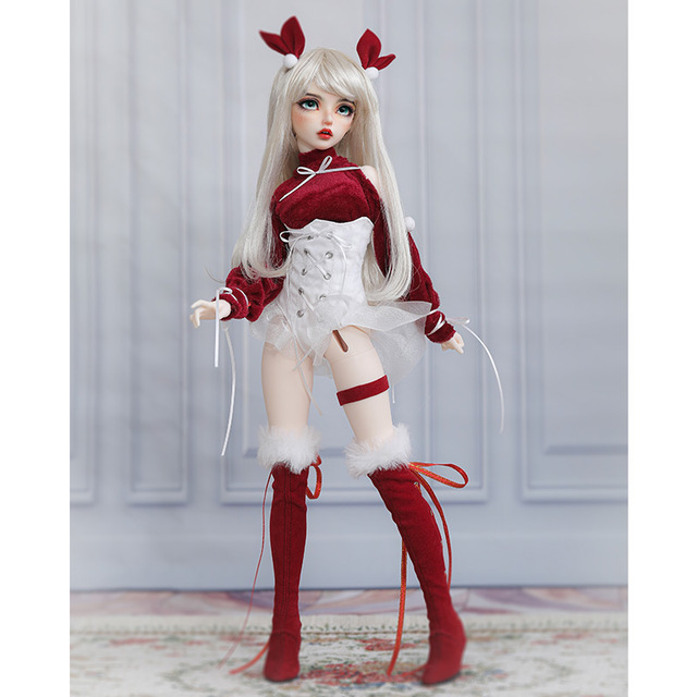 BJD Doll Miyn 1/4 Macaron Magic Ice Cream Girl Ball Jointed Doll Art Collection Toys MSD Size Chirstmas Gift Limited Doll 6