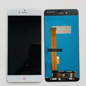 Image 2 - Сменный ЖК дисплей 5,2 дюйма, оригинальный смартфон AAA nubia Z11 mini S NX549J