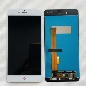 Image 2 - מקורי נבדק AAA 5.2 אינץ LCD תצוגה + מסך מגע Digitizer עצרת Smartphone החלפת ZTE nubia Z11 מיני S NX549J
