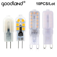 10 Pcs/ Lot G4 LED 12V G9 LED Bulb 220V LED Lamp 3W 5W 7W Light Bulb SMD2835 Chandelier Replace Halogen Lamps
