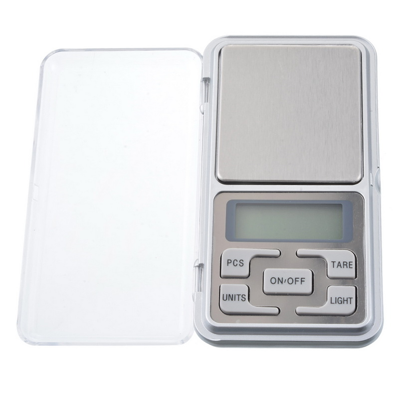 Mini Digital Pocket Scale 100g/200g/500g 0.01/0.1g Precision Scale For Gold Jewelry Weight Gram Balance LCD Electronic Scales