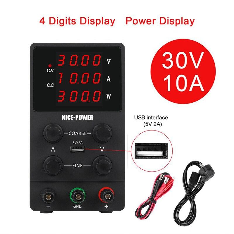 Блок питания K3010D, компактный цифровой источник питания постоянного тока со светодиодным дисплеем для ремонта ноутбуков, 30 В, 10 А, 110 220 В|Импульсный источник питания|   | АлиЭкспресс