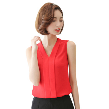 Neploe Korean Style Sleeveless Blouse Women Solid Color O-neck Basic Blouses Female Casual Fashion Summer Tops 2021 New #YL 10 2