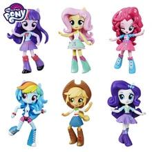 ต้นฉบับMy Little Ponyแฟชั่นCelestiaข้อต่อย้ายRainbow Dash PVCอะนิเมะรูปตุ๊กตาของเล่นเด็กBonecas
