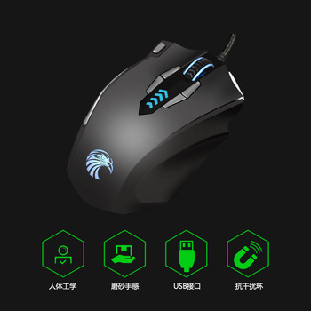 Z7900 professional gaming game frosted mouse eating chicken macro programming LOL aggravating backlit computer gaming mouse 2018 new usb2 0 3200dpi mechanical mouse game macro program metal compound water cooling game mouse for cf lol