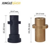 JUNGLEFLASH Car Washer Adapter For Karcher K2 K3 K4 K5 K6 K7 High Pressure Foam Generator Soap Foamer