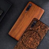 Custodia per telefono per Xiaomi Mi 10 Mi 11 ultra 9t 9 Mix 3 Poco X3 NFC Pro F3 custodia in legno originale per Redmi Note 10 Pro accessori per telefoni