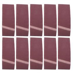 Abrasive Belt 10 Pcs Abrasive Sanding Belt 457x75mm Grits Sander Abrasive Grinding Belt Aluminum Oxide Abrasives Tools