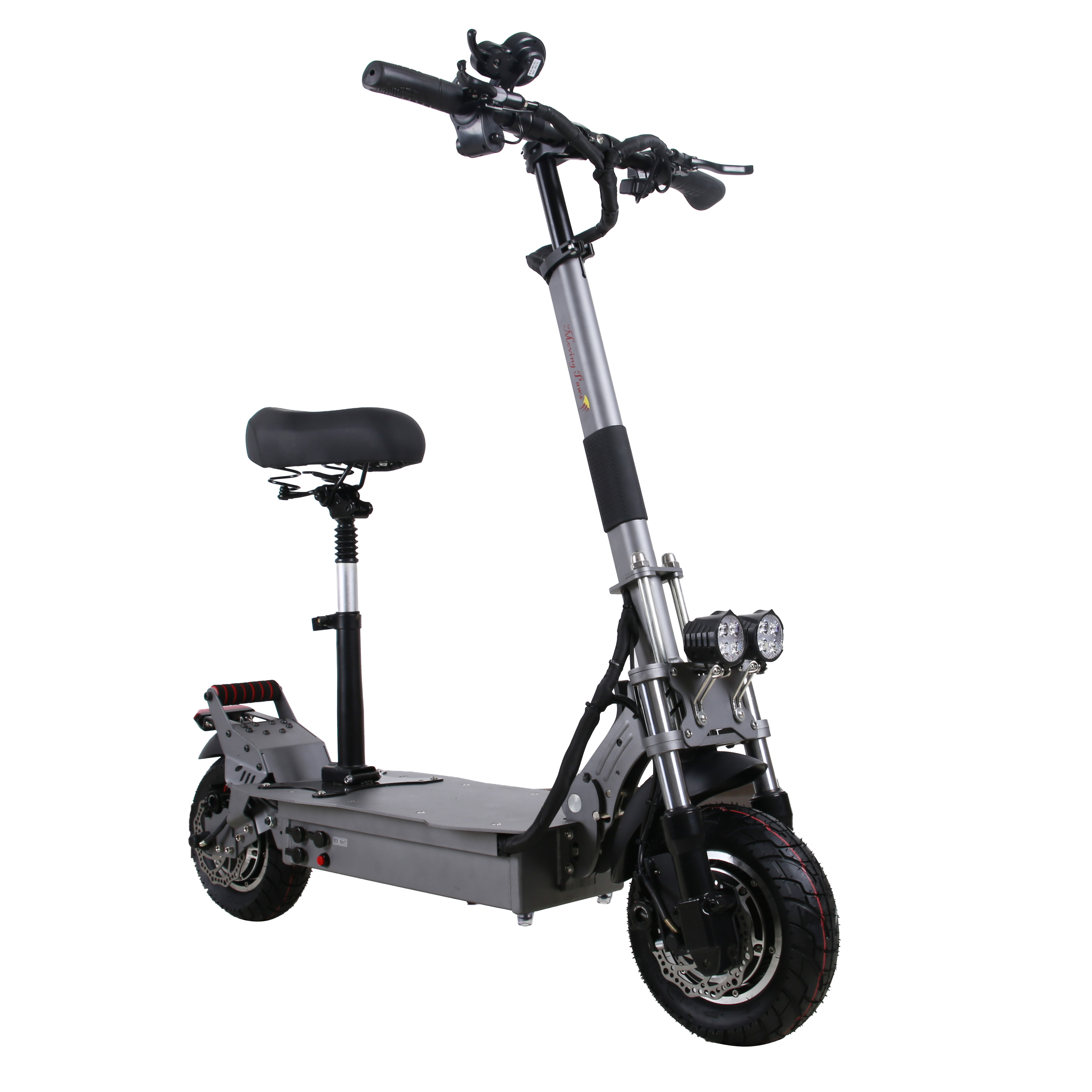 EU Stock UBGO Moving Paws MP-10D01 52V32A LG Battery Double Driver <font><b>Motor</b></font> Powerful <font><b>Electric</b></font> <font><b>Scooter</b></font> 10 Inch E-<font><b>Scooter</b></font> image