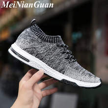 Air Mesh Man Sneakers Slip on Low Men Running Shoes Big Size Flat Men's