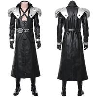 Final Fantasy VII: Remake Cosplay Sephiroth Costume Adult Men Coat Cloak Outfit Halloween Carnival Costumes