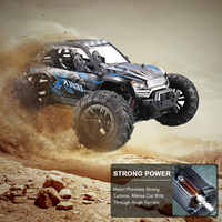Pokich RC Car Off-Road Electric Remote Control Off-Road Monster Truck 1:16 Scale 2.4Ghz 4WD Fast Birthday Gift