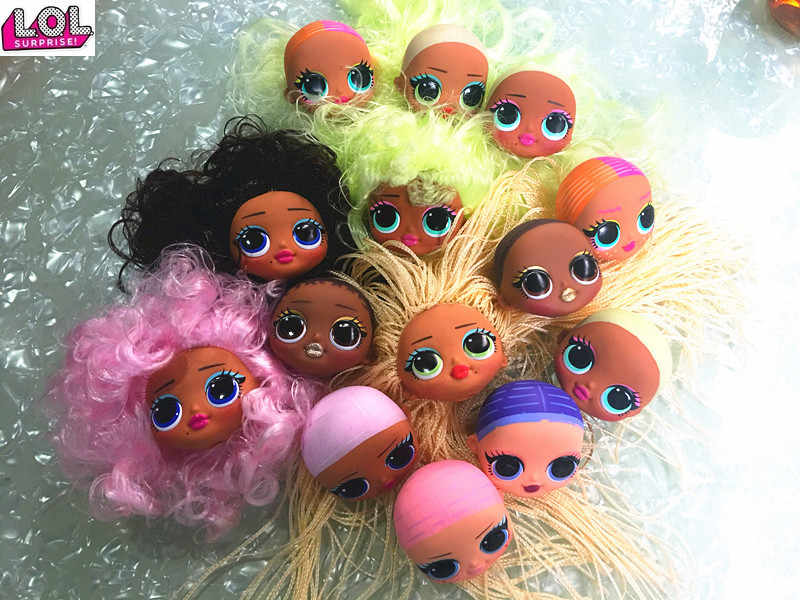 Lol Surprise O M G Fashion Big Sister Doll Head Girl Doll Original Body Toy Hair Diy Doll Part Girl Fashion Diy Dressing Toy Dolls Aliexpress