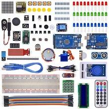 Arduino için R3 mega 2560 / lcd1602 / hc sr04 /dupont hattı plastik kutu içinde