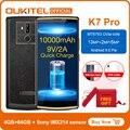 Oukitel k7 pro smartphone android 9.0 mt6763 octa núcleo 4g ram 64g rom 6.0