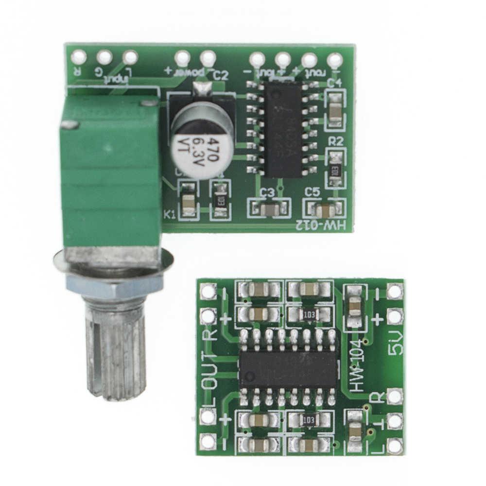 Module PAM8403 carte amplificateur Super numérique 2*3 W classe D carte amplificateur numérique potentiomètre de commutation efficace