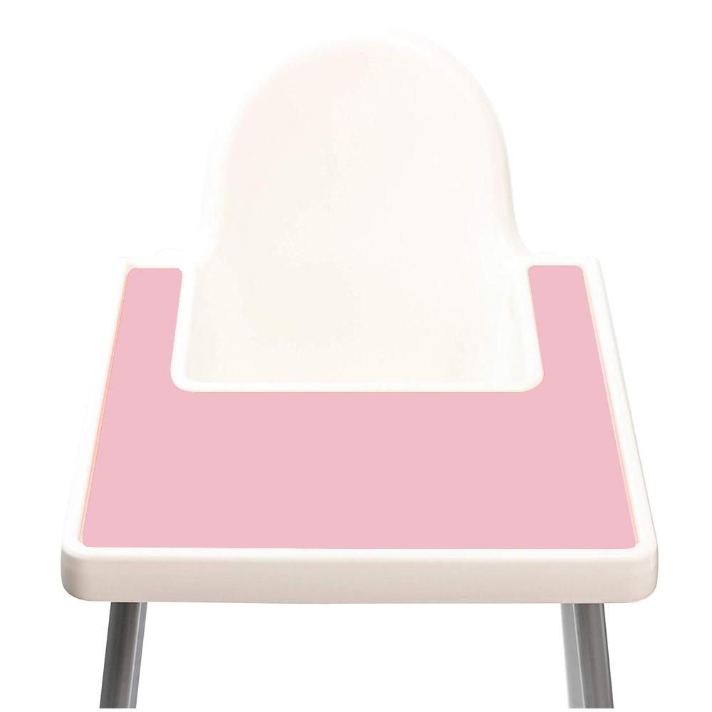 Пищевой моющийся силиконовый коврик, подстилка для кормления ребенка, поднос для высоких стульев, силиконовый коврик