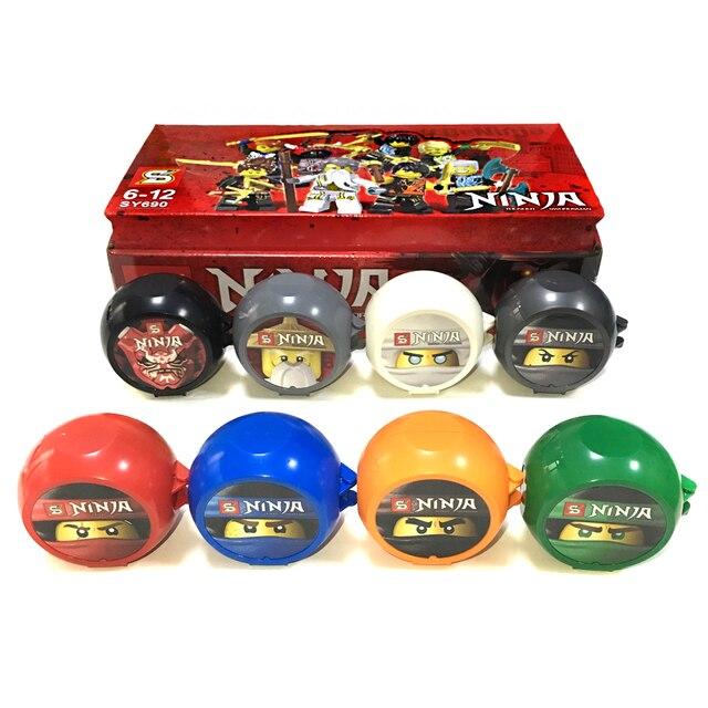 8 ミニフィギュアパックセット sy ninjagoes 会ジェイにゃ剣道トレーニング忍者ポッドセット教育ビルディングブロックのおもちゃキッズギフト