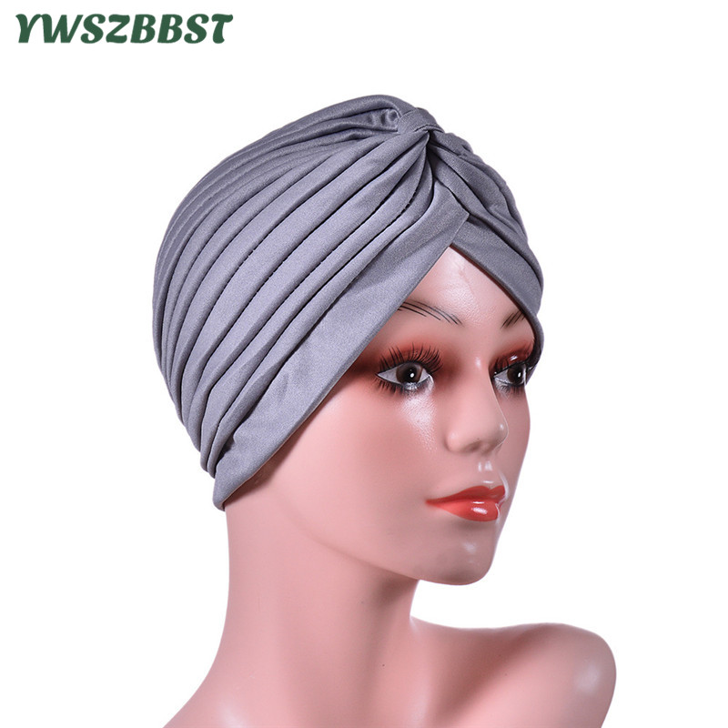 New Spring Autumn Turban Cap For Women Men Muslim Beanies For Men Winter Cotton Warm Women Hat Breathable Milk Silk Head Cap