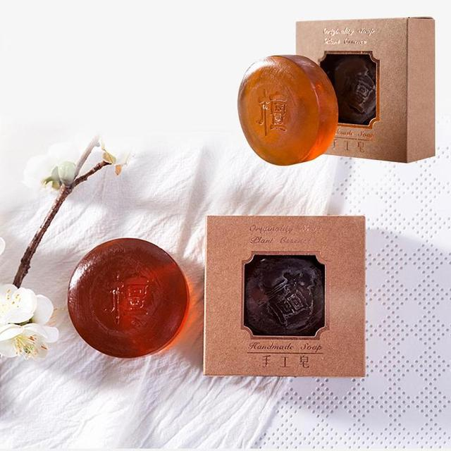 100g Handmade Soap Pore Acne Treatment Collagen Vitamin Skin Moisturizing Whitening Bathing Tool Face Care Soap Body Care 3