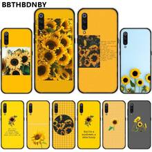 Aesthetic art Yellow Sunflower Phone Case bumper For Xiaomi Redmi 4x 5 plus 6A 7 7A 8 mi8 8lite 9 note 4 5 7 8 pro fractions bumper book ages 5 7
