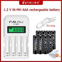 2021 100% nowy akumulator AAA akumulator AAA, akumulator 1.2 V Ni-MH AAA, odpowiedni do zegarów, myszy, komputerów