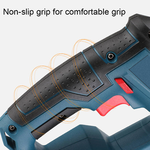 Image 5 - 21V Electric Hammer Cordless Lithium Ion Hammer Drill Electric Perforator impact hammer with LED light