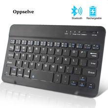 Мини Беспроводная клавиатура bluetooth для ipad телефона планшета