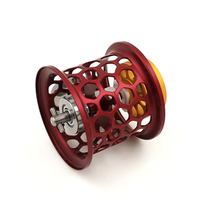 Image 2 - DIY סליל קל משקל עבור DAIWA PX68 PIXY אלפא אוויר זרם CUSTOM חלת דבש דיג סליל סליל